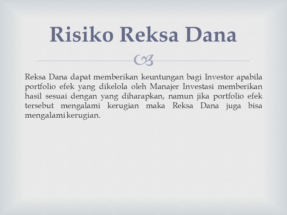Risiko Reksa Dana