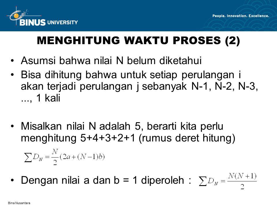 MENGHITUNG WAKTU PROSES (2)