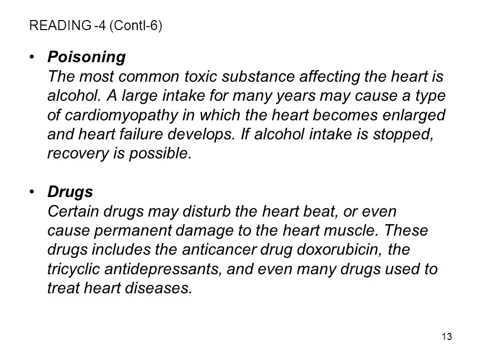 The most common toxic substance affecting the heart is
