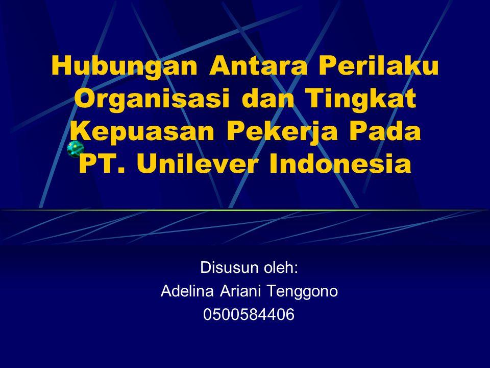 Disusun oleh: Adelina Ariani Tenggono 0500584406