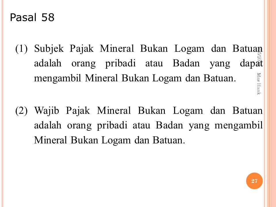 Pasal 58 6/5/2012. (1)