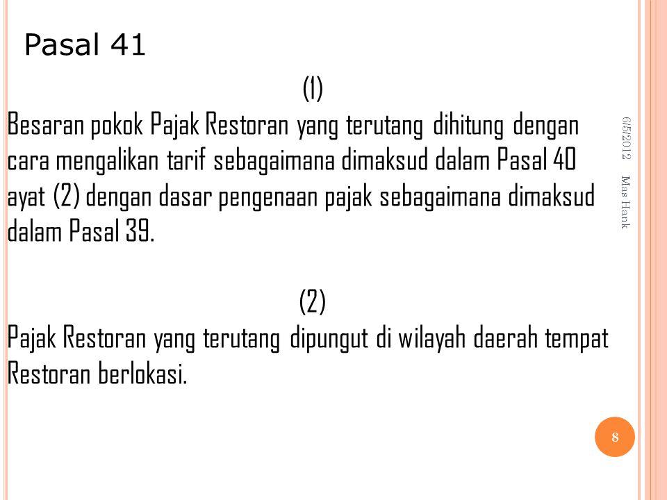 Pasal 41 (1)