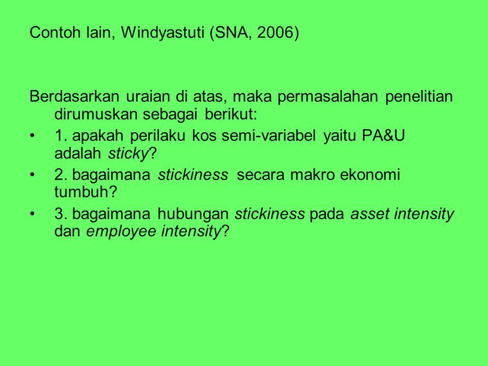 Contoh lain, Windyastuti (SNA, 2006)