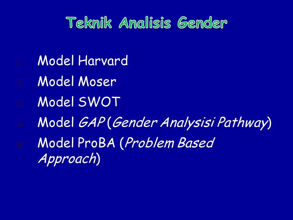 Teknik Analisis Gender