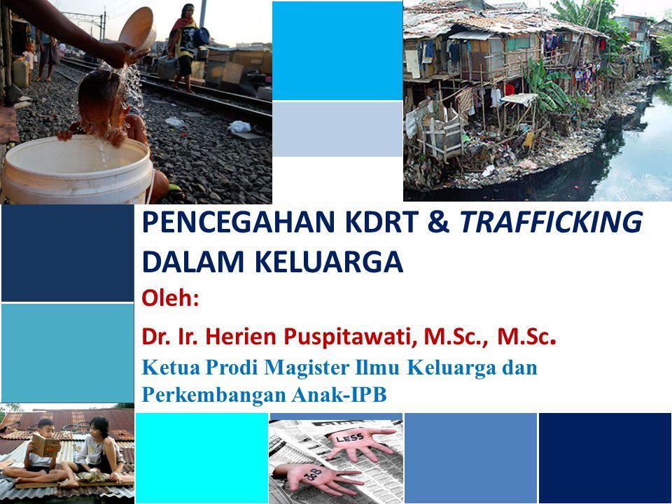 PENCEGAHAN KDRT & TRAFFICKING DALAM KELUARGA
