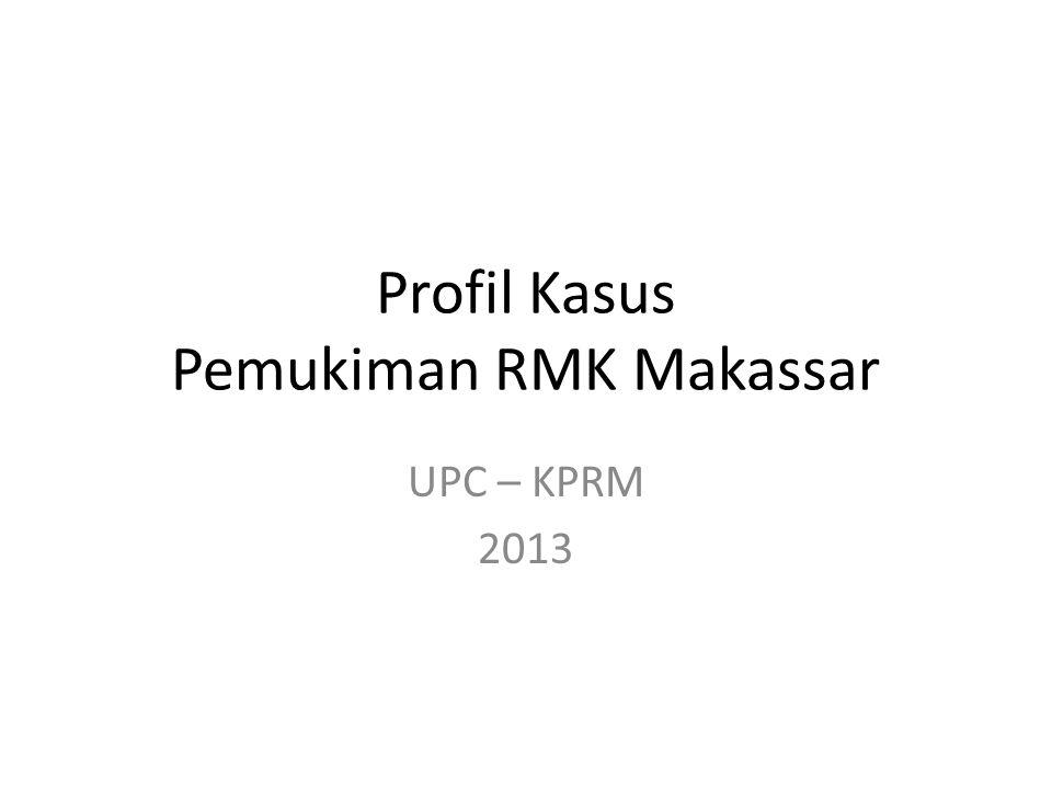 Profil Kasus Pemukiman RMK Makassar
