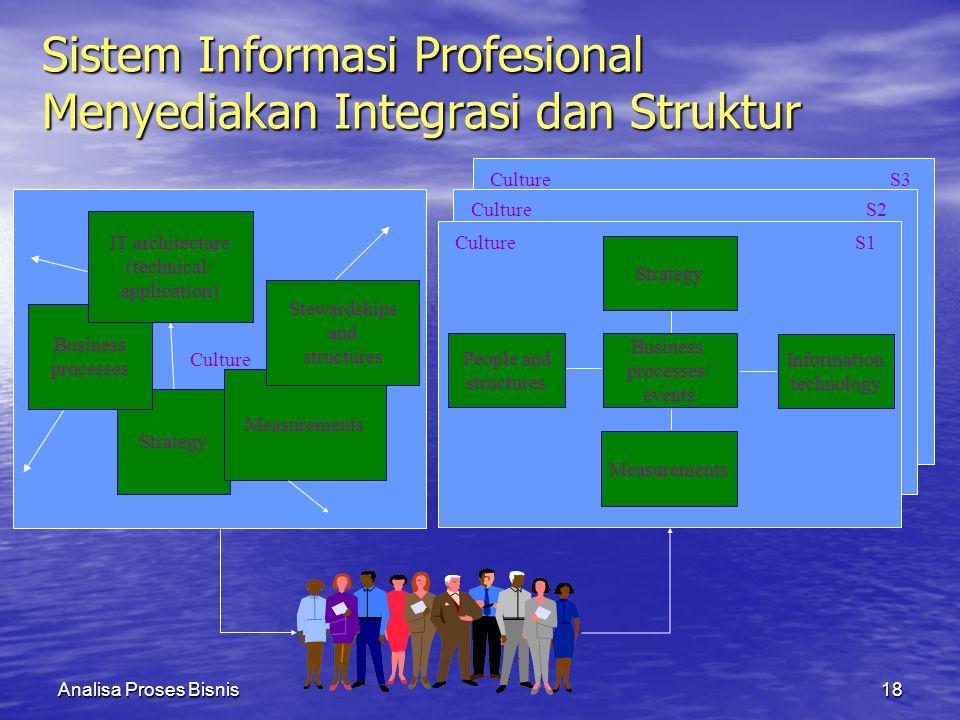 Sistem Informasi Profesional Menyediakan Integrasi dan Struktur