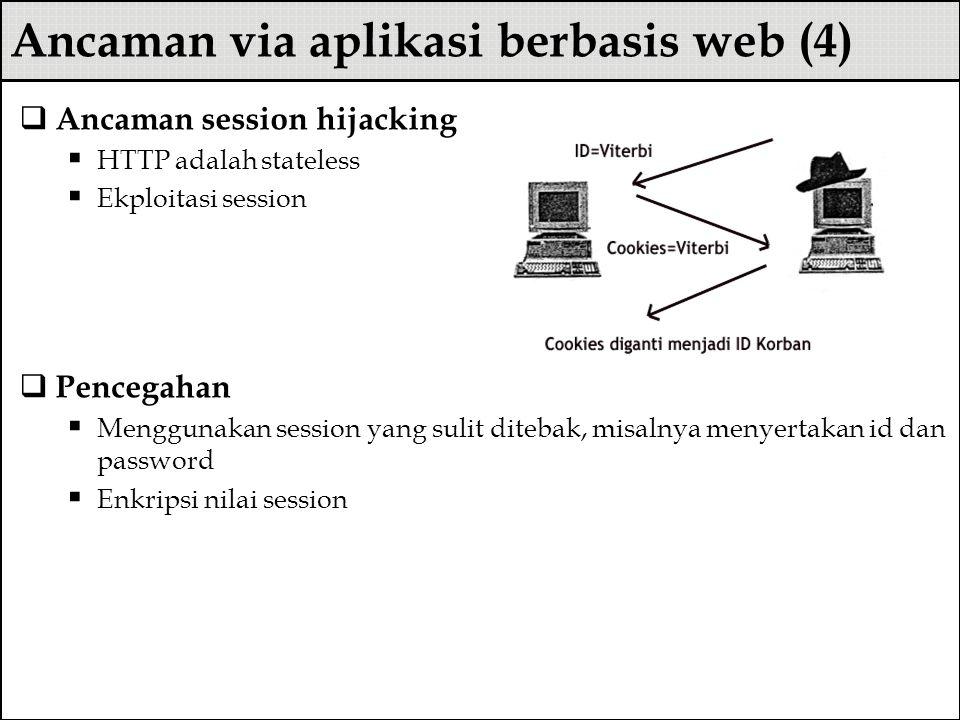 Ancaman via aplikasi berbasis web (4)
