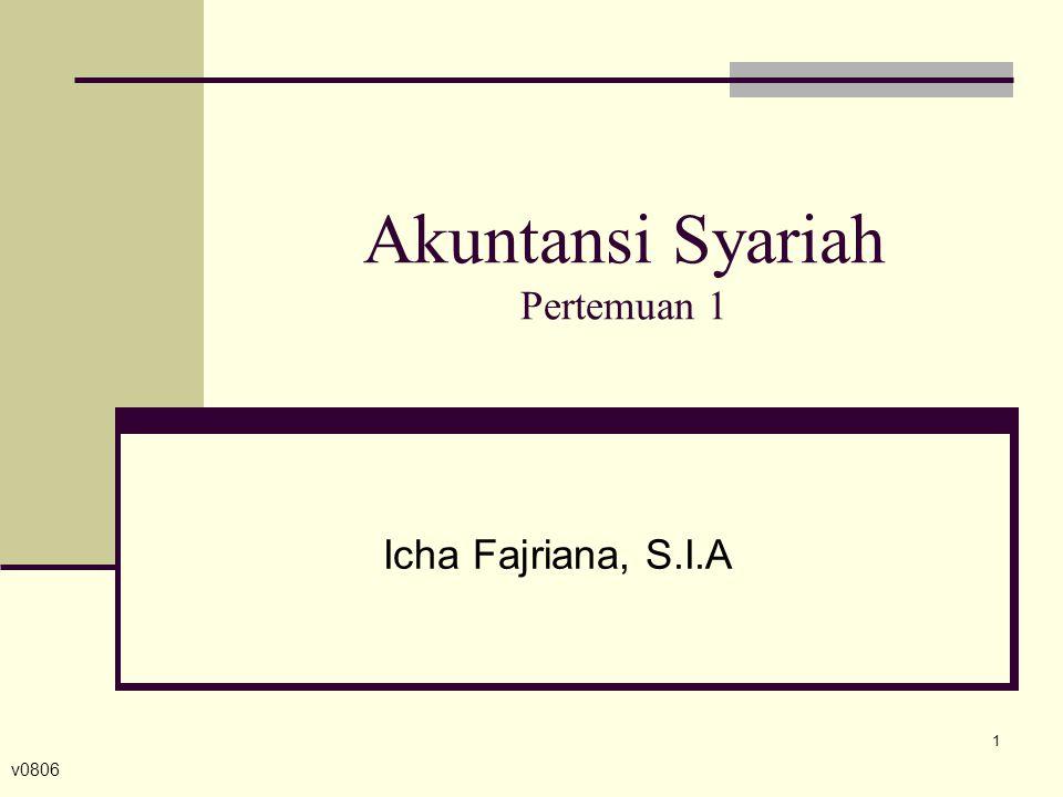 Akuntansi Syariah Pertemuan 1