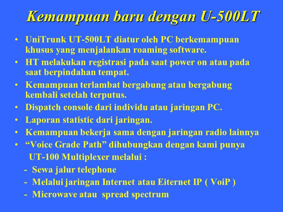 Kemampuan baru dengan U-500LT