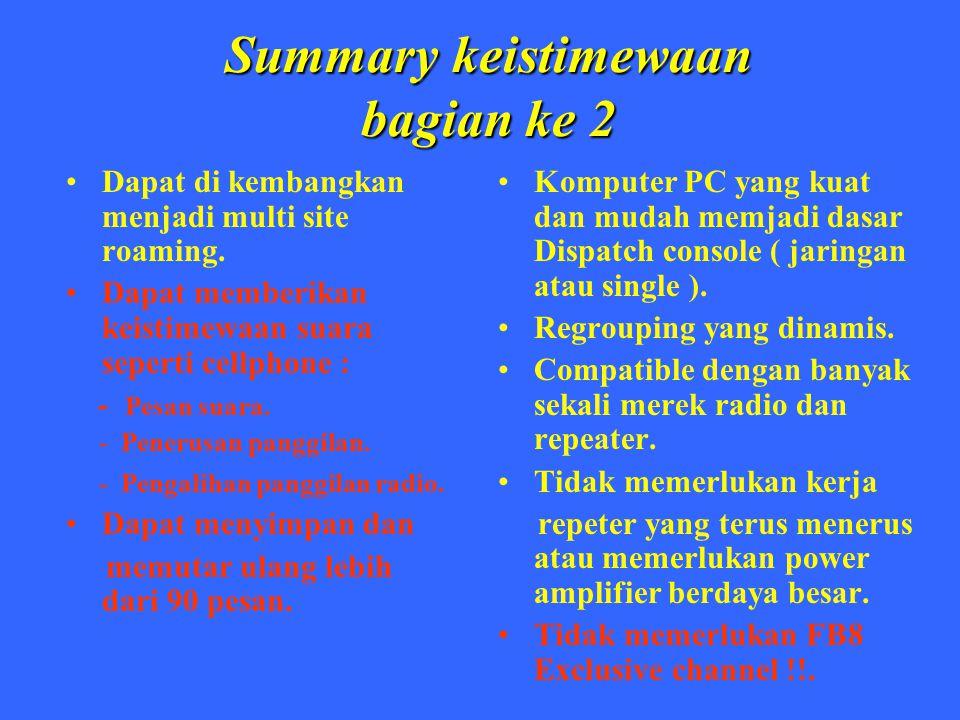 Summary keistimewaan bagian ke 2