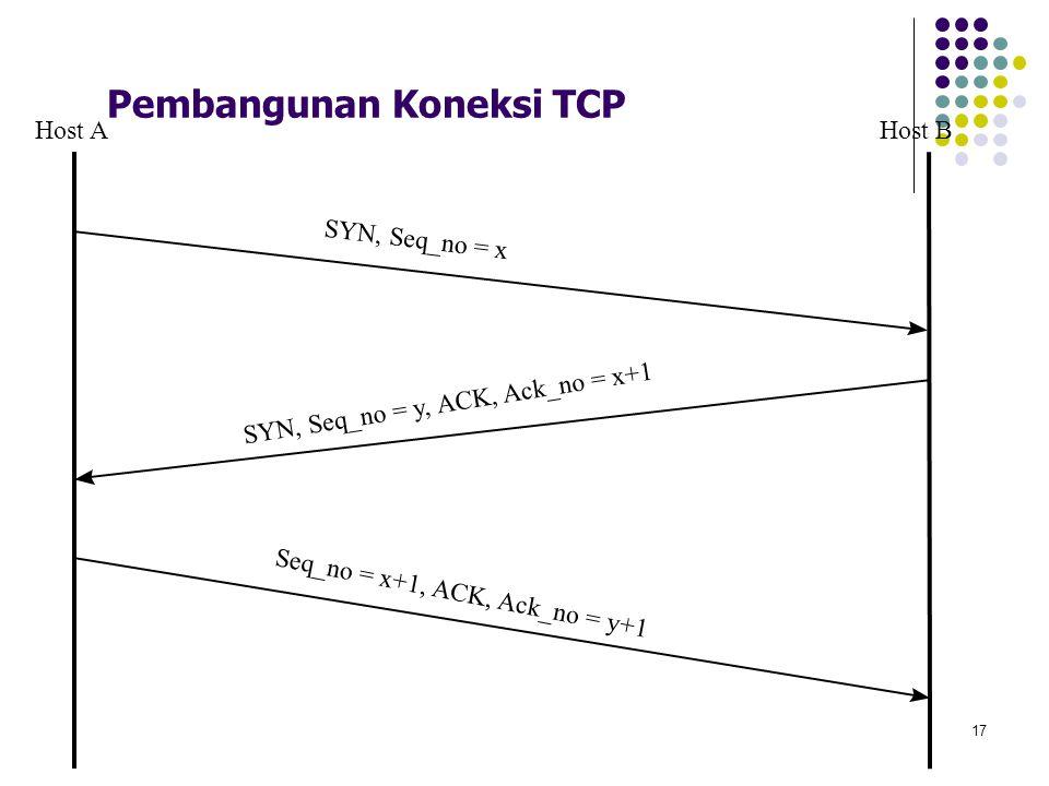 Pembangunan Koneksi TCP
