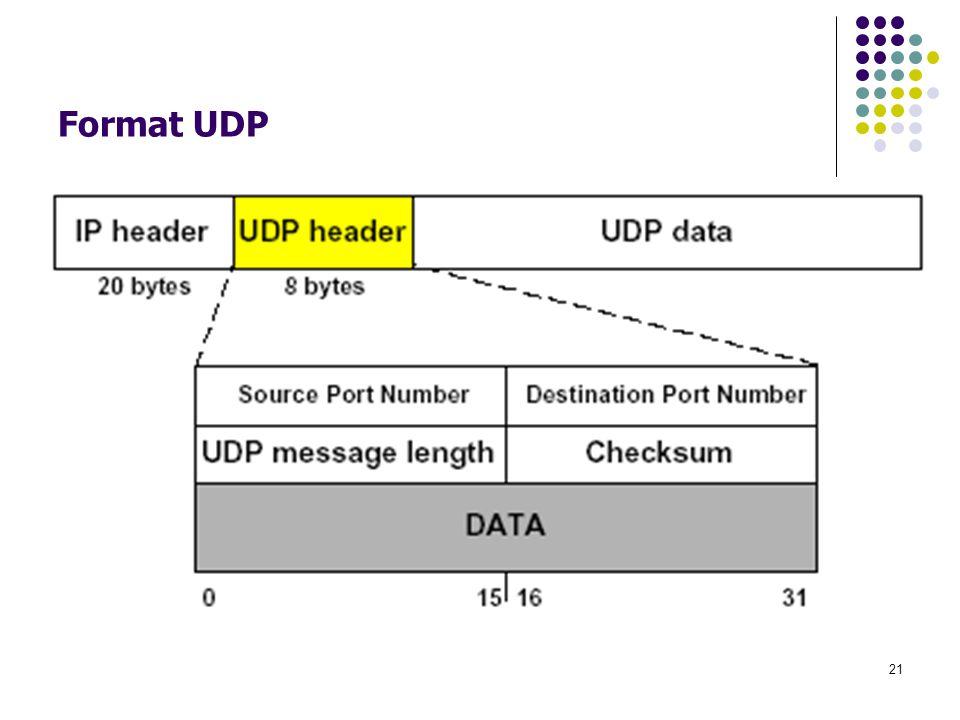 Format UDP