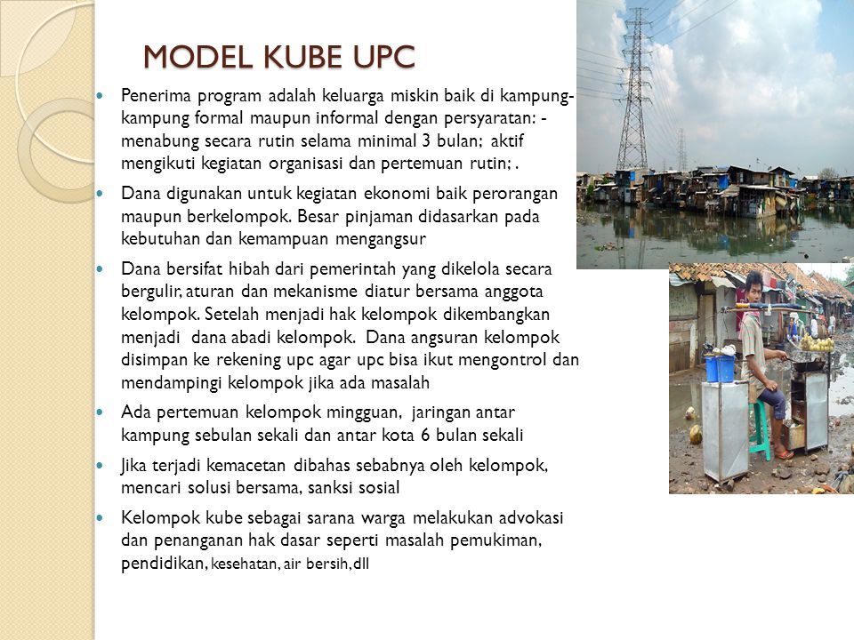MODEL KUBE UPC