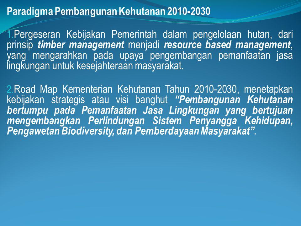 Paradigma Pembangunan Kehutanan 2010-2030