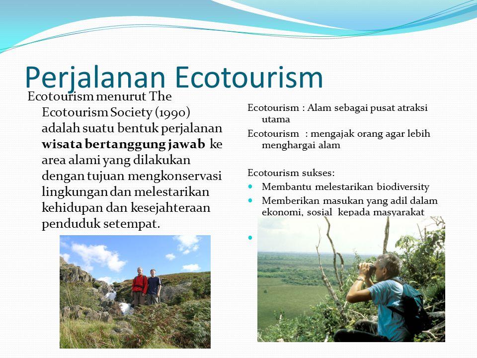 Perjalanan Ecotourism