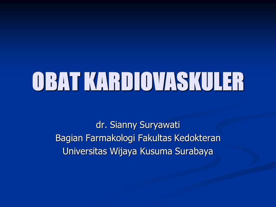 OBAT KARDIOVASKULER dr. Sianny Suryawati