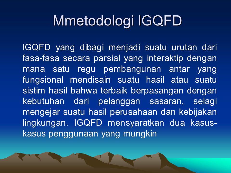 Mmetodologi IGQFD