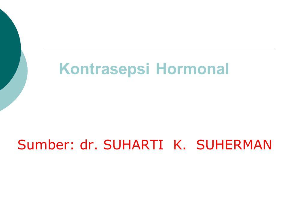 Sumber: dr. SUHARTI K. SUHERMAN
