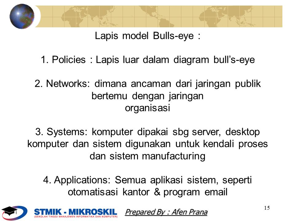 Lapis model Bulls-eye :