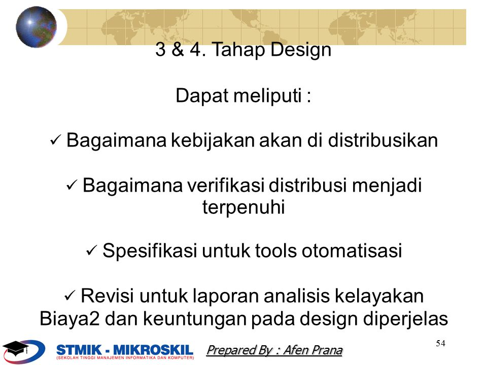 Biaya2 dan keuntungan pada design diperjelas