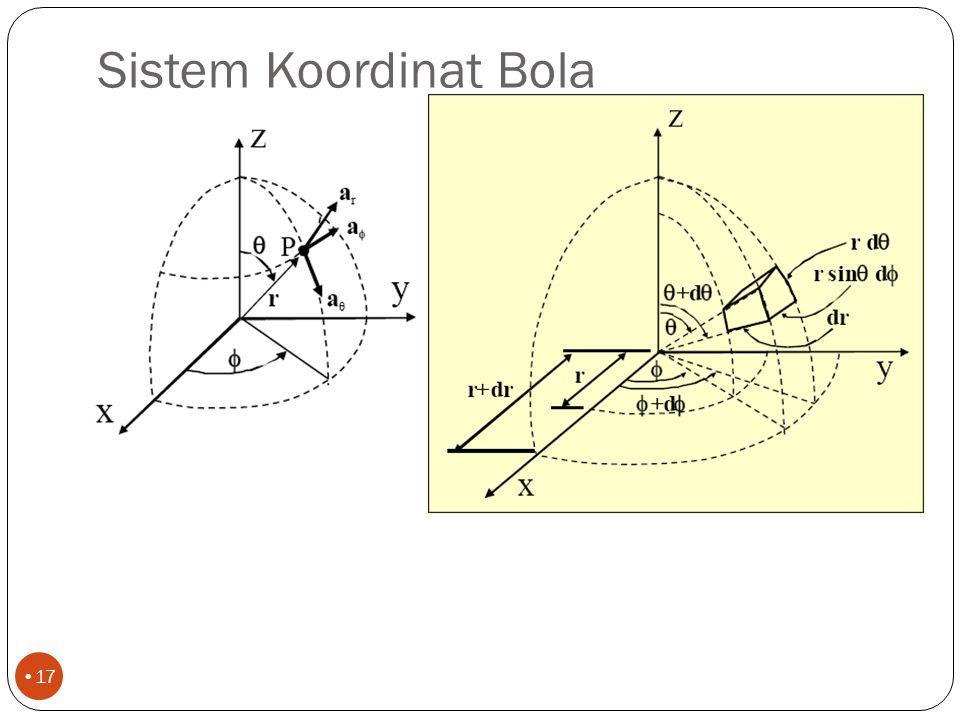 Sistem Koordinat Bola