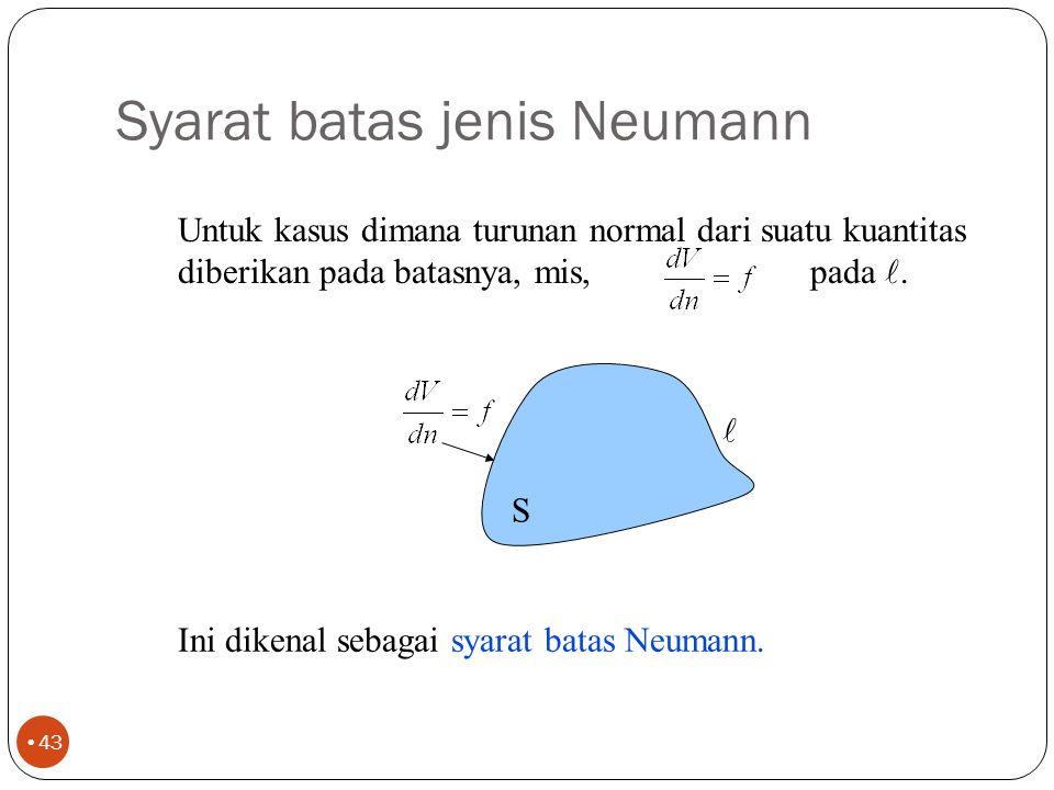 Syarat batas jenis Neumann