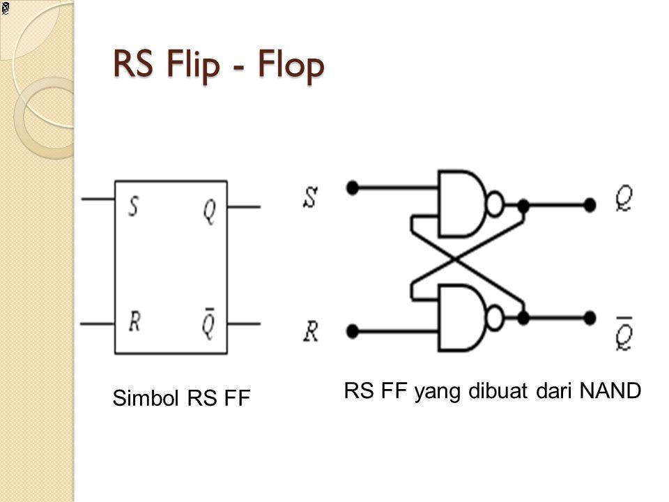 RS FF yang dibuat dari NAND