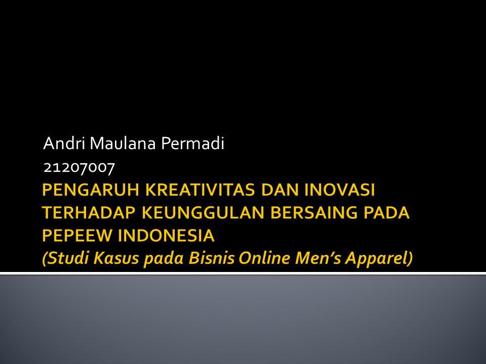 Andri Maulana Permadi 21207007.