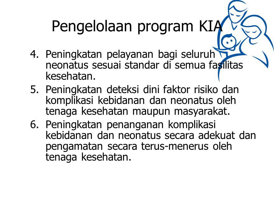 Pengelolaan program KIA