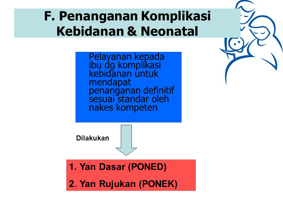 F. Penanganan Komplikasi Kebidanan & Neonatal
