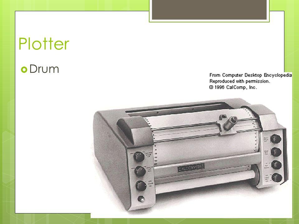 Plotter Drum