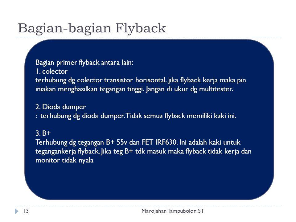 Bagian-bagian Flyback