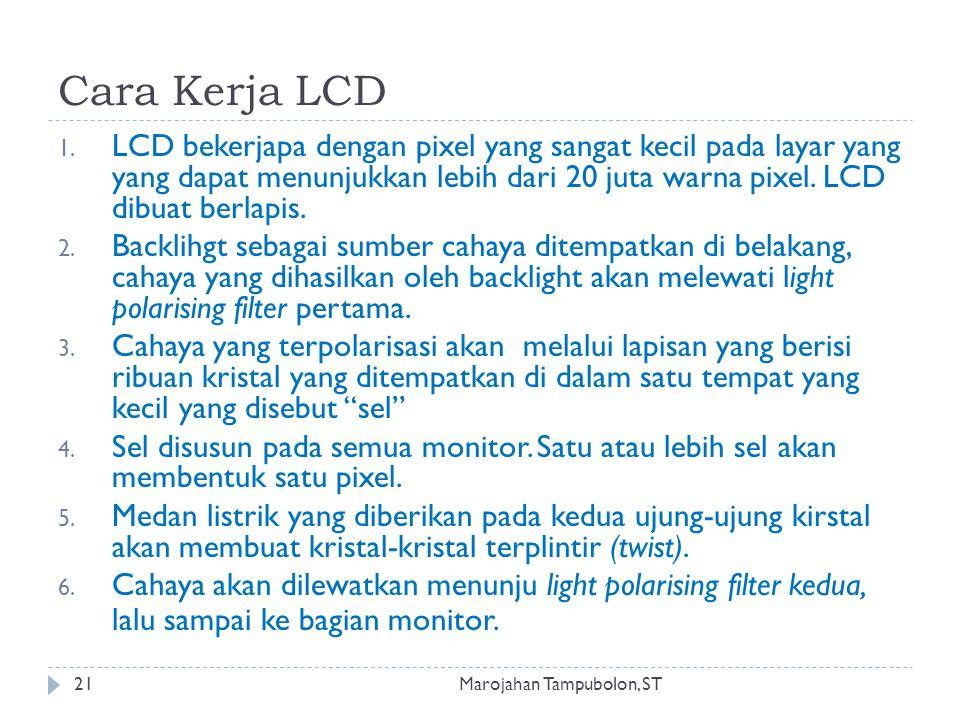 Cara Kerja LCD