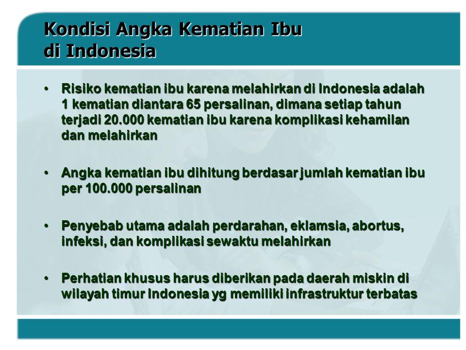Kondisi Angka Kematian Ibu di Indonesia