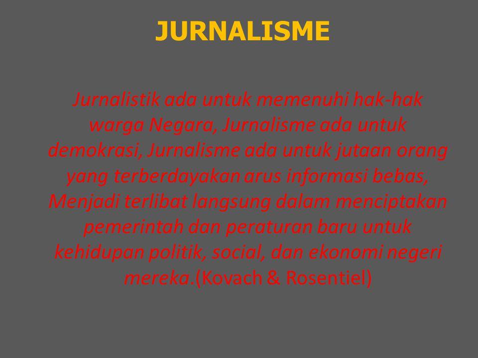 JURNALISME