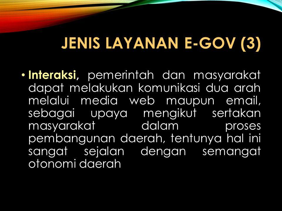 JENIS LAYANAN e-GOV (3)