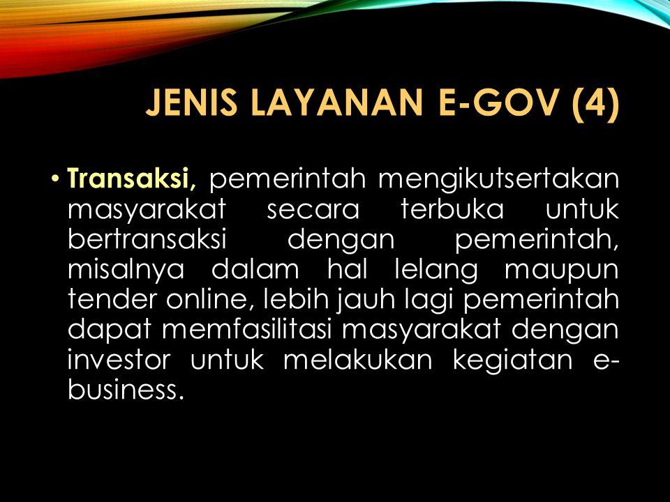 JENIS LAYANAN e-GOV (4)