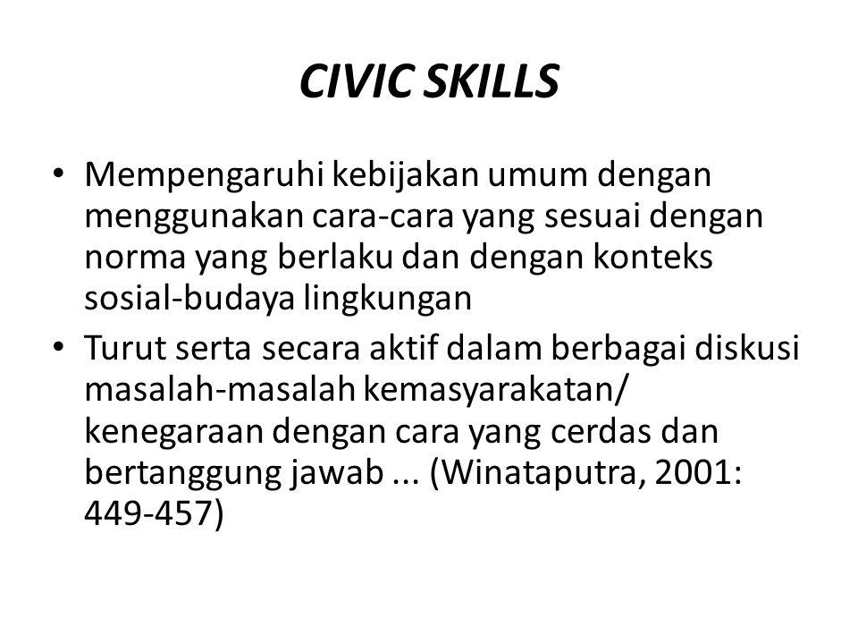 CIVIC SKILLS