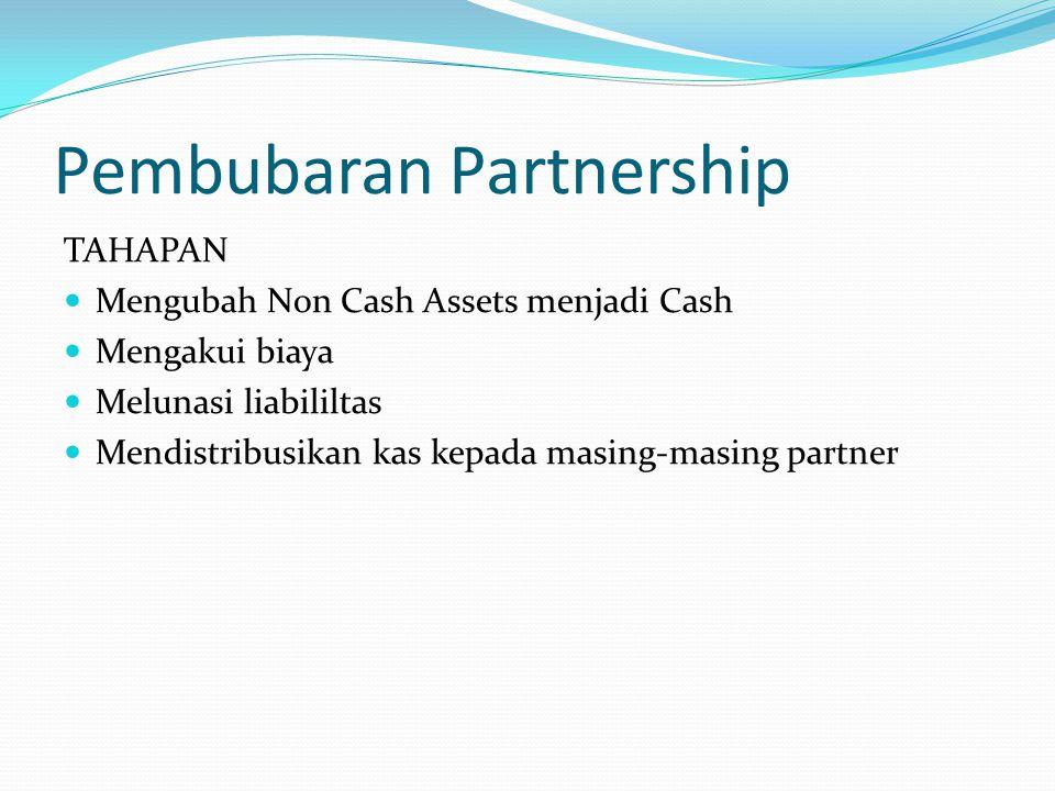 Pembubaran Partnership