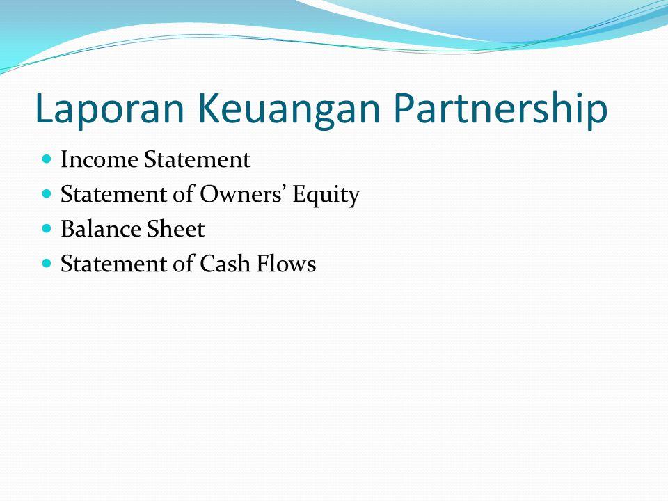 Laporan Keuangan Partnership