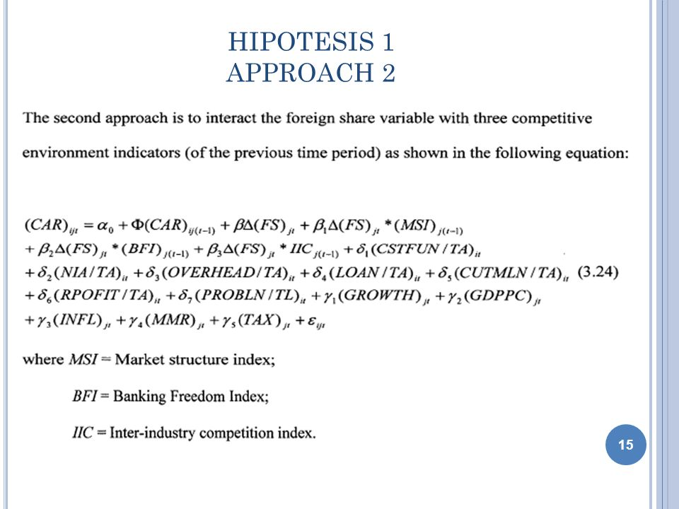 HIPOTESIS 1 APPROACH 2