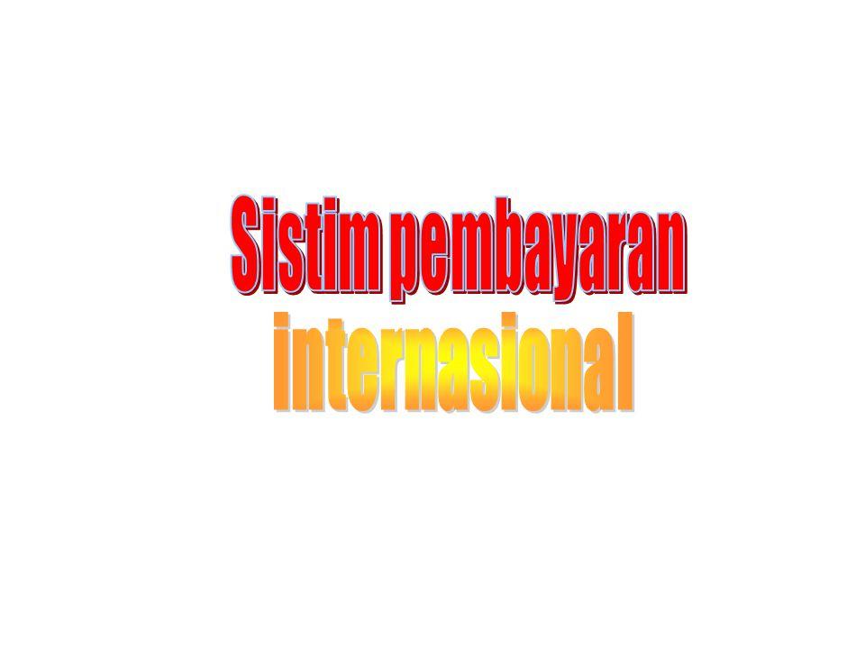 Sistim pembayaran internasional