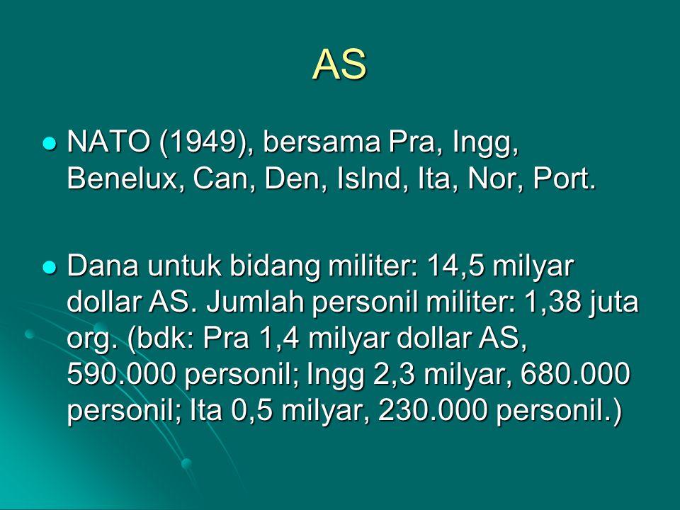 AS NATO (1949), bersama Pra, Ingg, Benelux, Can, Den, Islnd, Ita, Nor, Port.