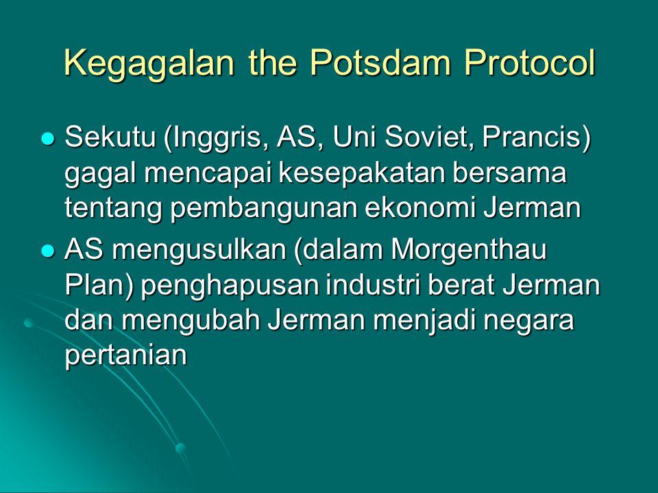 Kegagalan the Potsdam Protocol