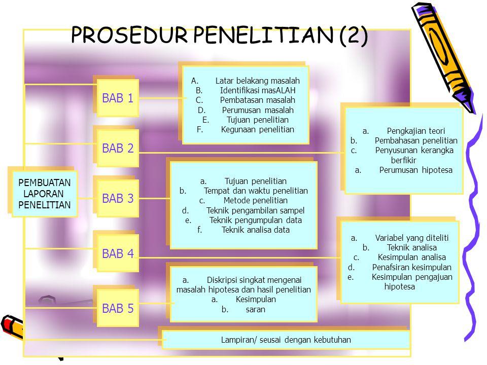 PROSEDUR PENELITIAN (2)