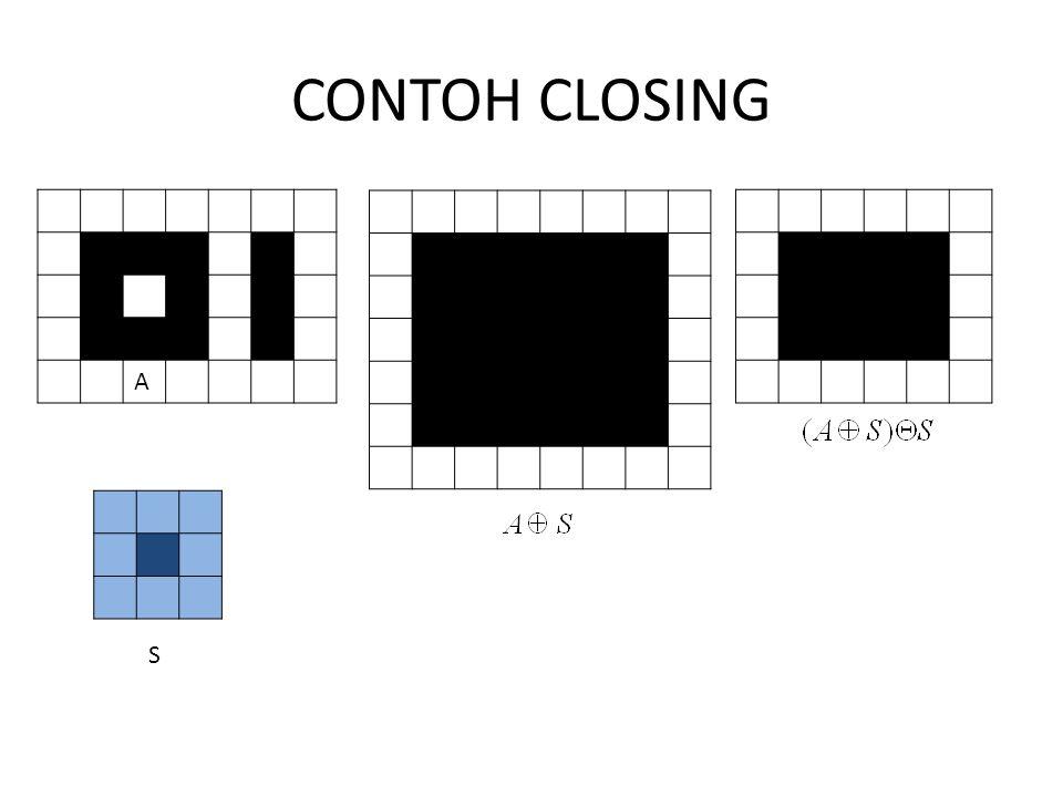 CONTOH CLOSING A S