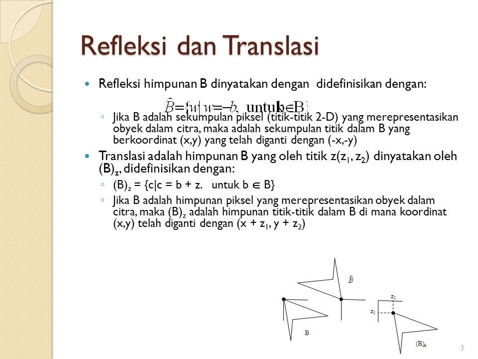 Refleksi dan Translasi