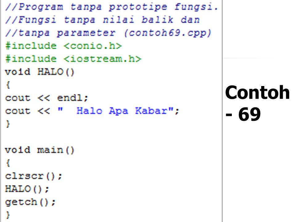 Contoh - 69
