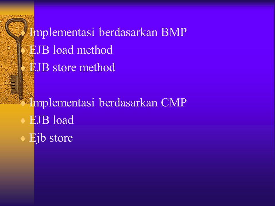 Implementasi berdasarkan BMP